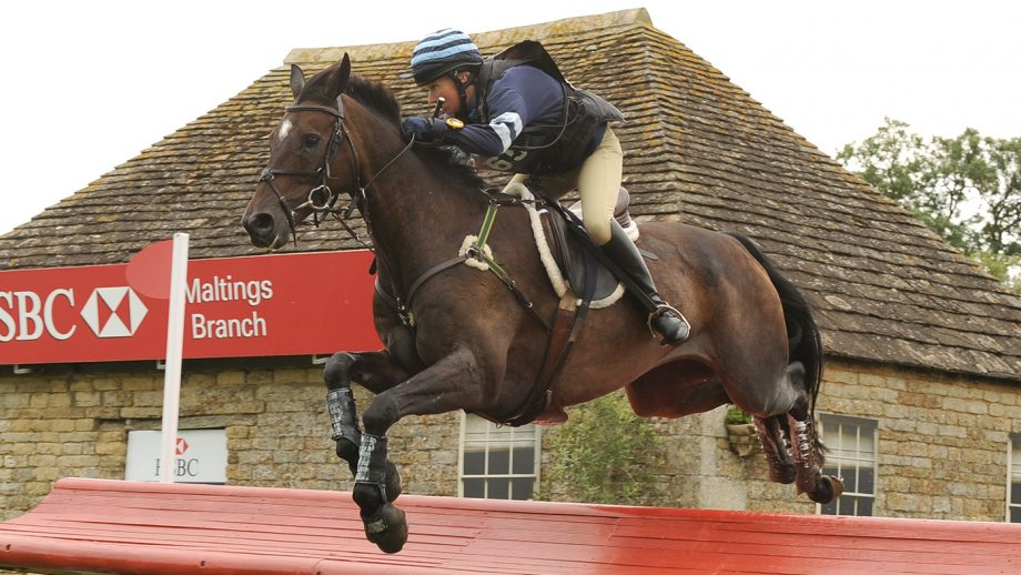 Clare Lewis and Sidnificant at Burghley 2010.