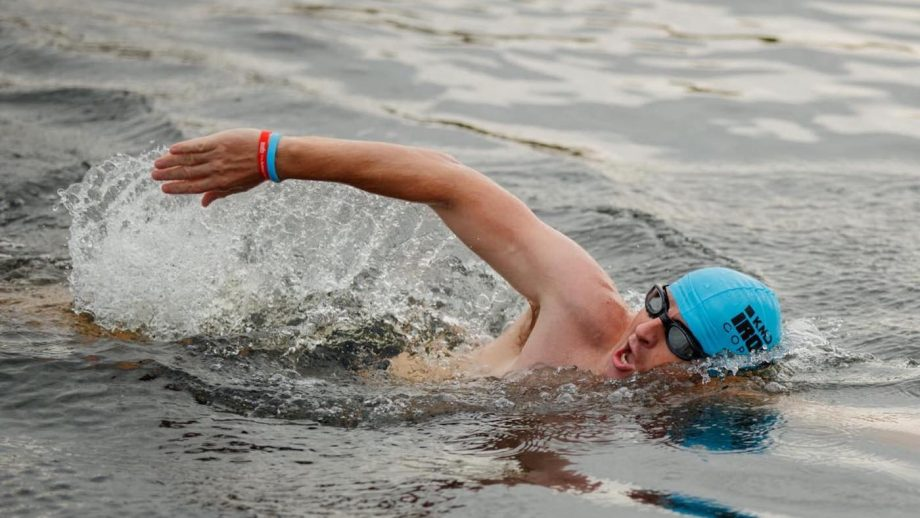 Captain Harry Grantham is swimming the English Channel on 7 September