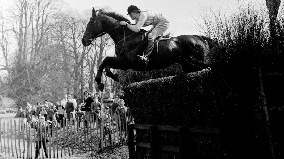 Badminton Horse Trials1962 Anneli Drummond-Hay & Merely a Monarch Box31 Neg. Q Photo© Badminton Horse Trials