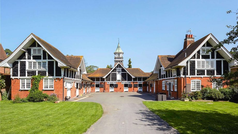 Listed property, tha Durdans Stables in Epsom