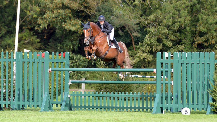 Hickstead Showjumping Championships results Sunday: Holly Smith riding Fruselli showjumping gridwork