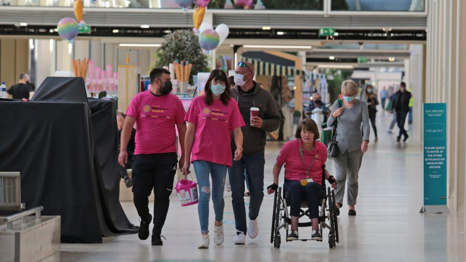 Sharon Mynard completed a pushathon (wheelchair marathon) in memory of the late Rory Gilsenan
