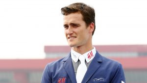 Olivier Philippaerts has tested positive for Covid-19 on returning from competing at St Tropez in France.