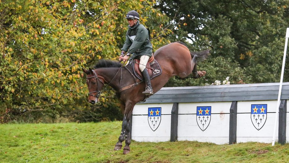 Andrew Nicholson rides Monbeg Exclusive to win at Bicton Arena (3).