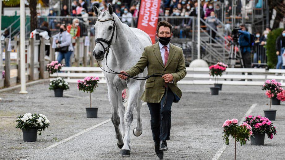 Pau Horse Trials 2020 final trot-up: Austin O'Connor and Colorado Blue