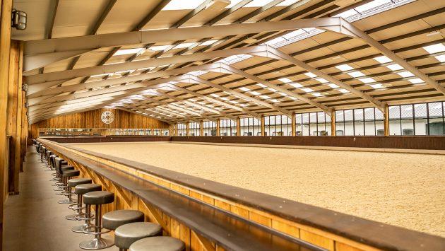 Confira o novo e impressionante estábulo do olímpico Spencer Wilton 3
