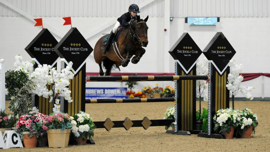 Pony showjumper of the year 2020 final winners Gagnam Style II and Tabitha Kyle