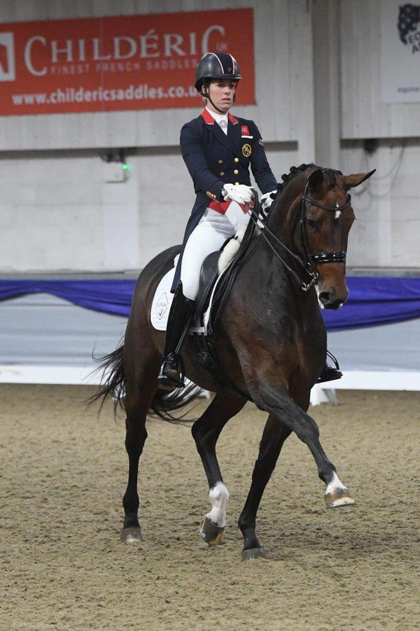 Charlotte Dujardin wins grand prix with personal best