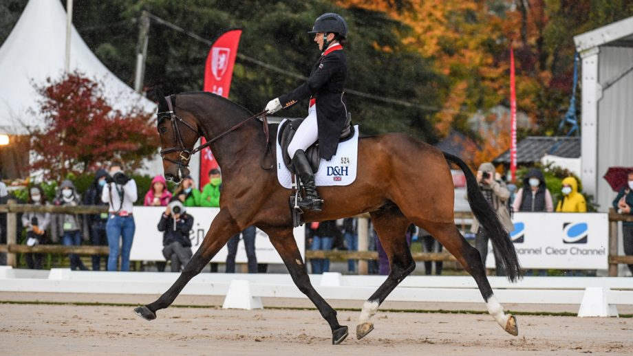 Pau Horse Trials 2020 dressage results: Laura Collett and London 52 take the lead