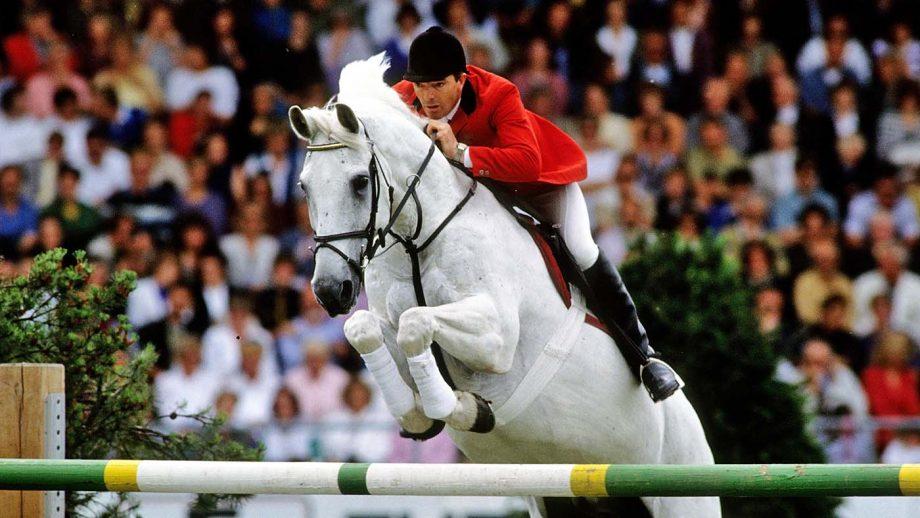 PEAG81 CHIO Aachen 1991, John Whitaker (GBR) riding Henderson Milton