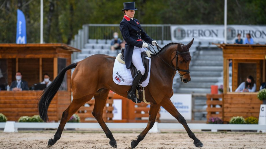 Pau Horse Trials 2020 Thursday dressage: Piggy French and Brookfield Inocent