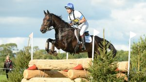 Francis Whittington's five-star horse Evento