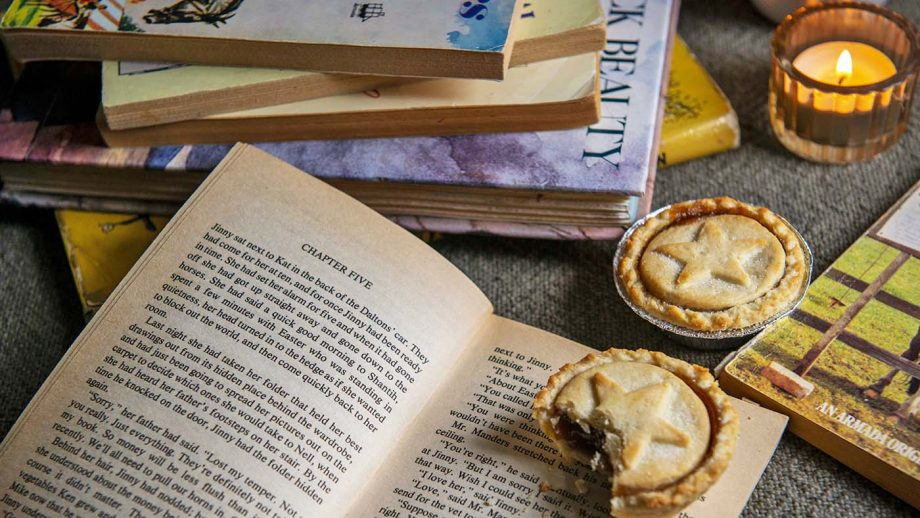 BOOKS CHRISTMAS MINCE PIE ARTY horse books for Christmas