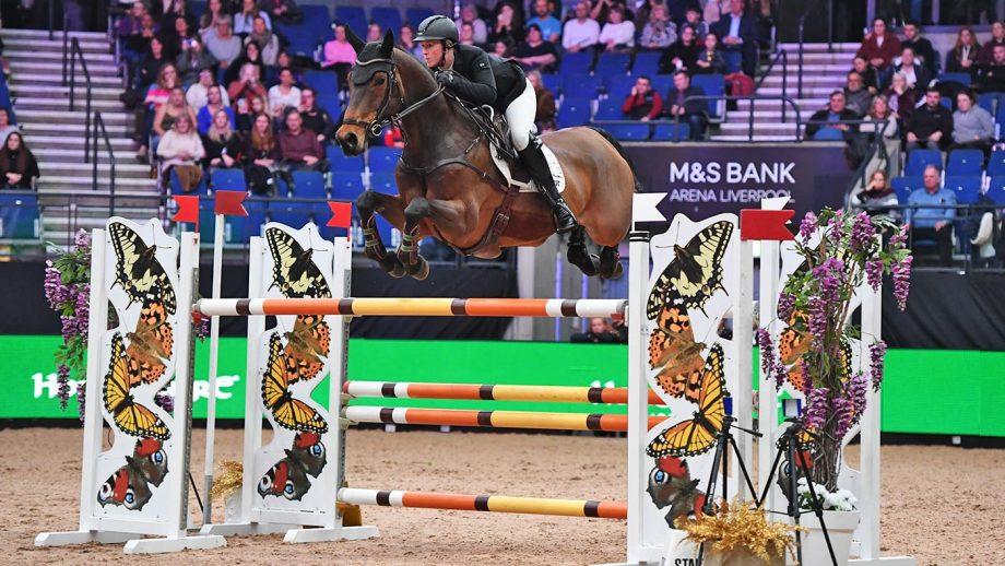 Holly Smith riding Denver