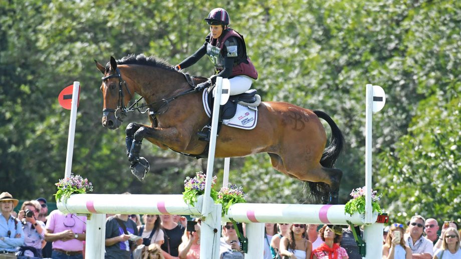 Sarah Bullimore riding Reve Du Rouet