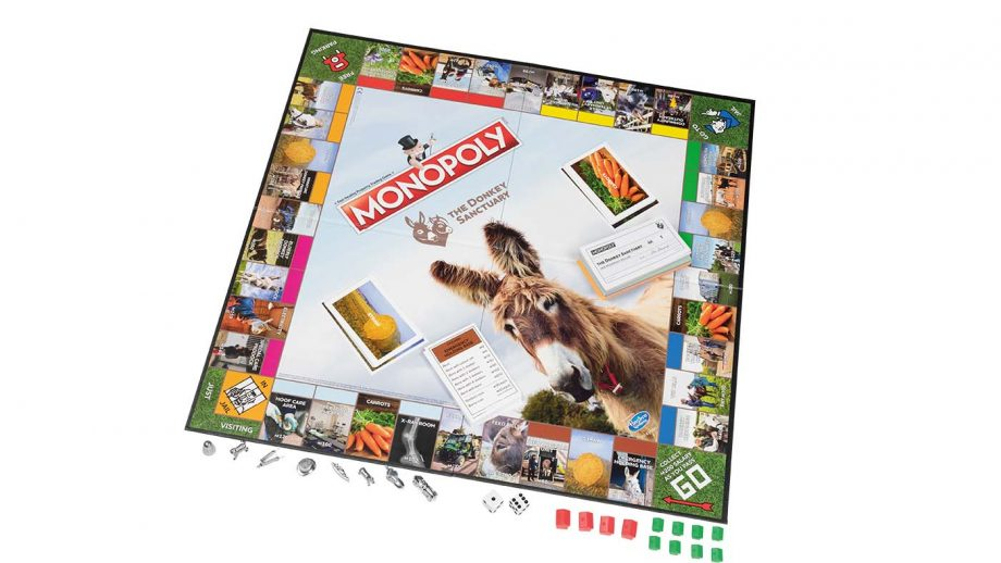 THE DONKEY SANCTUARY MONOPOLY GAME gifts