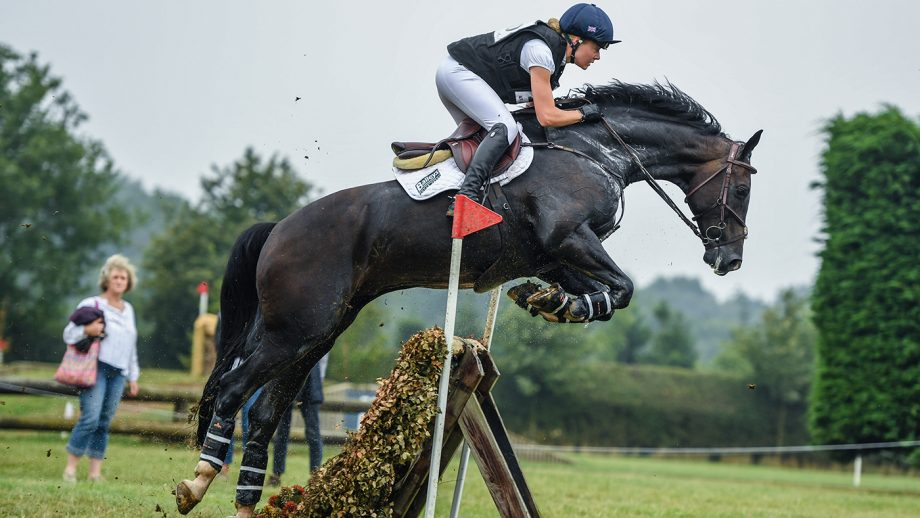 Mollie Summerland and Charly Van Ter Heiden take the under-25 advanced at Aston-le-Walls in August 2020.
