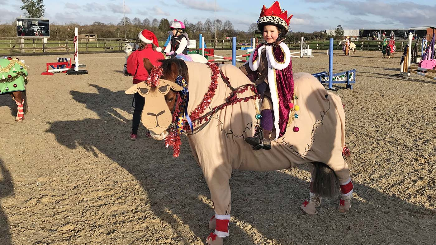 Get Into The Festive Spirit 13 Christmas Fancy Dress Ideas For Riders Of All Ages And Their Reindeer Mounts Horse Hound
