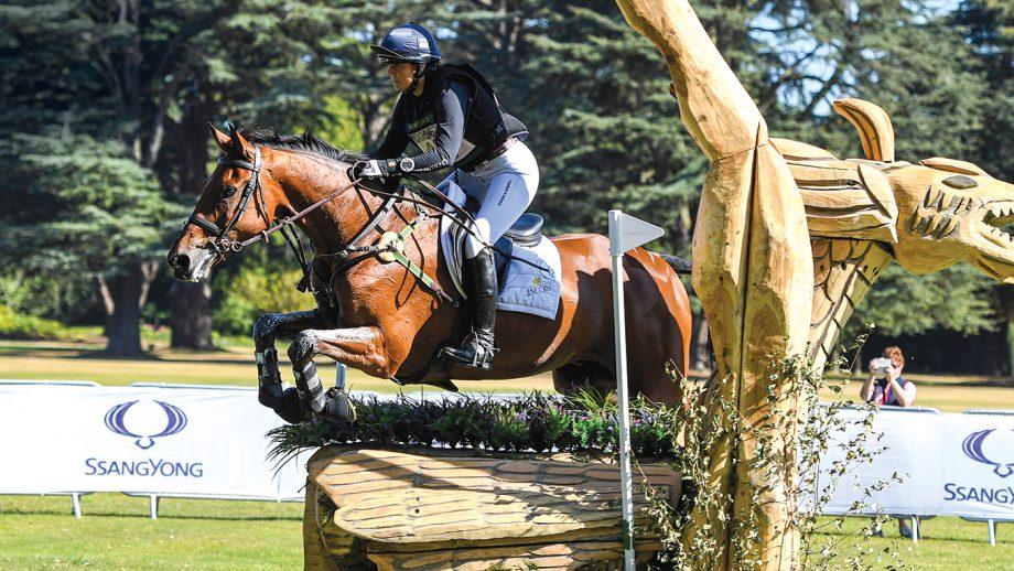 British Eventing top rider Piggy March horse Brookfield Inocent