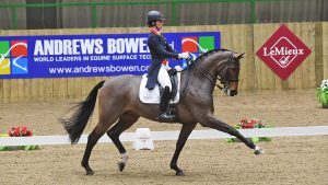 Charlotte Dujardin and Mount St John Freestyle at the National Grand Prix Championship 2020
