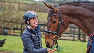 Charlotte Dujardin and MSJ Freestyle - Oaklebrook Mill, Mailswick, Newent, Gloucestershire, United Kingdom - 12 March 2018