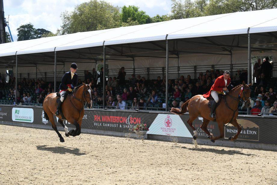rory gilsenan and katy green at royal windsor horse show