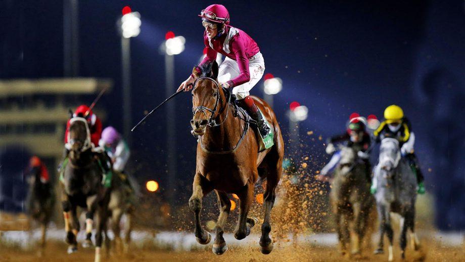 David Egan rides Mishriff to win the Saudi Cup