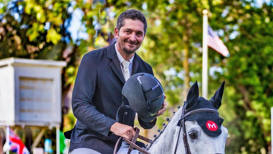 Olympic showjumper Ali Nilforushan removed from suspension list