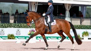 Steffen Peters and Suppenkasper at the 2021 Adequan Global Dressage Festival, Wellington, Florida