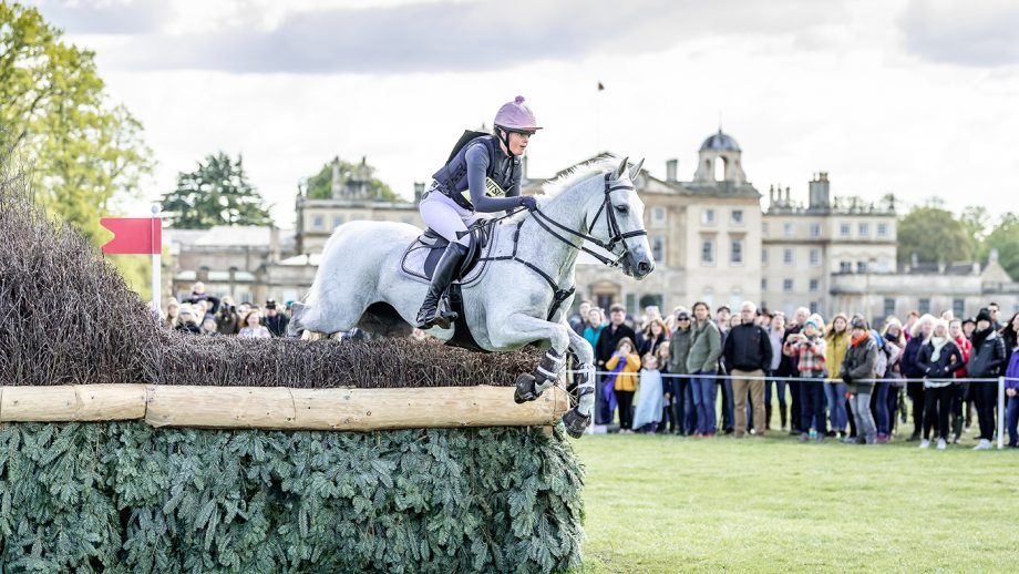 Badminton Horse Trials 2021 cancelled: Isabel English on Feldale Mouse at Badminton 2019