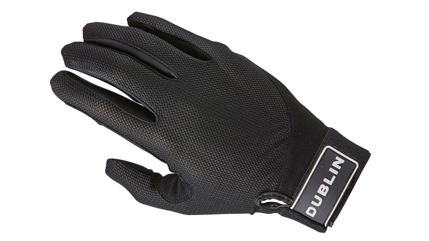 Dublin mesh back riding gloves