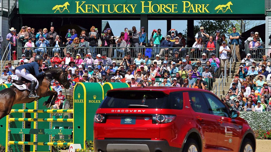 Michael Jung and FischerRocana, Kentucky Three-Day Event winners on three consecutive occasions