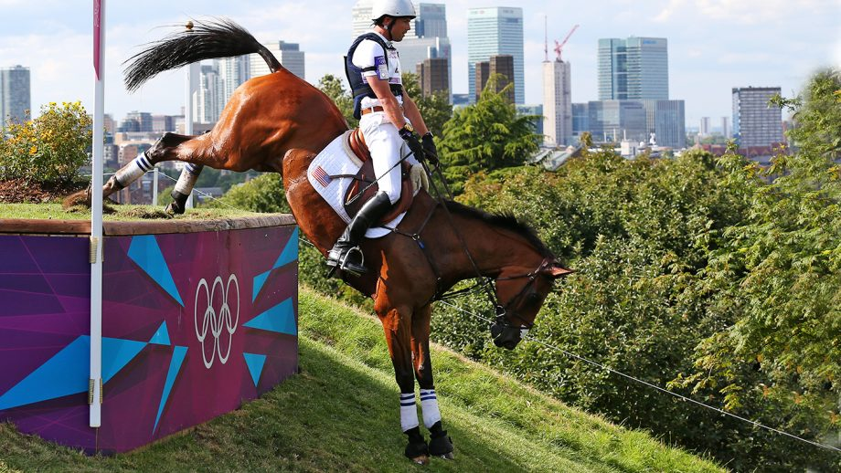 Will Coleman and Twizzel at the 2012 London Olympics.