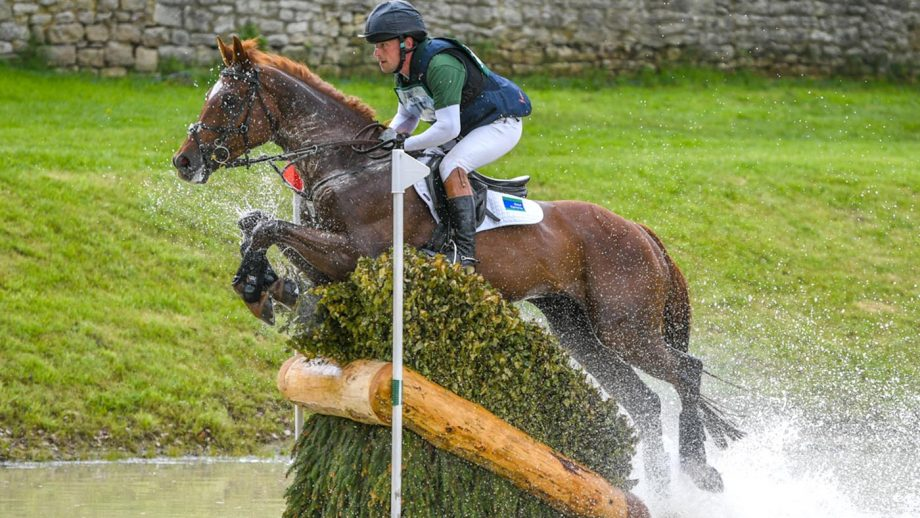 Bramham Horse Trials 2021 cancelled: Simon Grieve and Mr Fahrenheit III at the event in 2019
