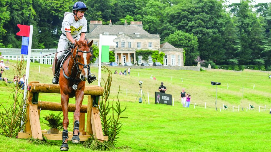 Harry Meade is preparing to return to eventing – Red Kite is one of the horses he will ride at his first event back