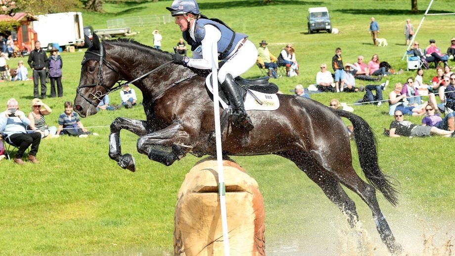 nicola wilson on bulana 4th ERM chatsworth horse trials 14-5-17