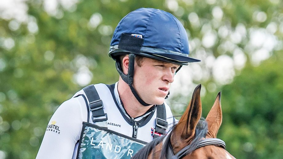 Sam Ecroyd is in hospital following a cross-country fall at Kelsall Hill