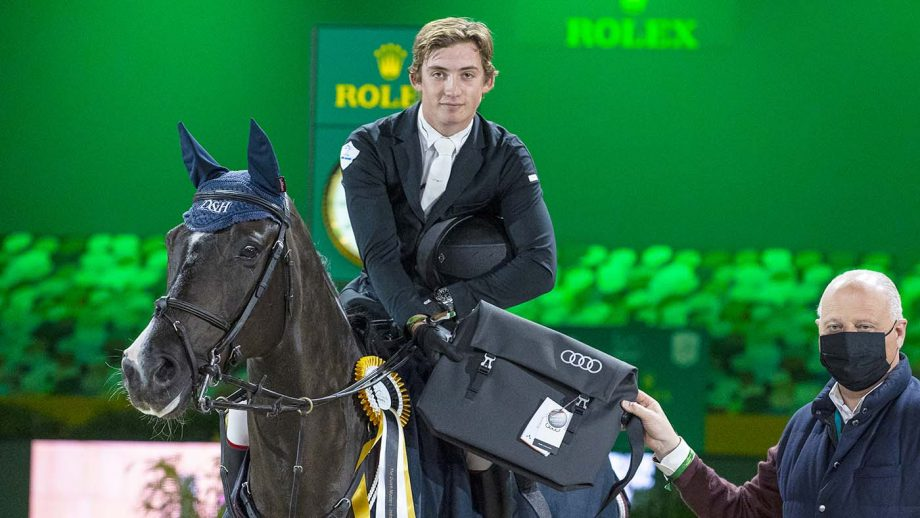First five-star win for Jack Whitaker, riding Scenletha