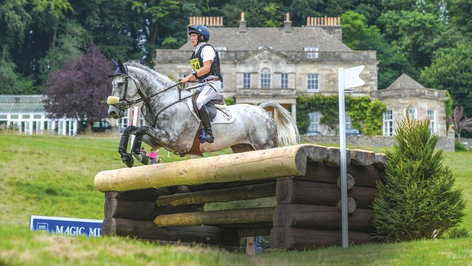 Festival of British Eventing 2021 cancelled: Tom McEwen at the 2019 Festival