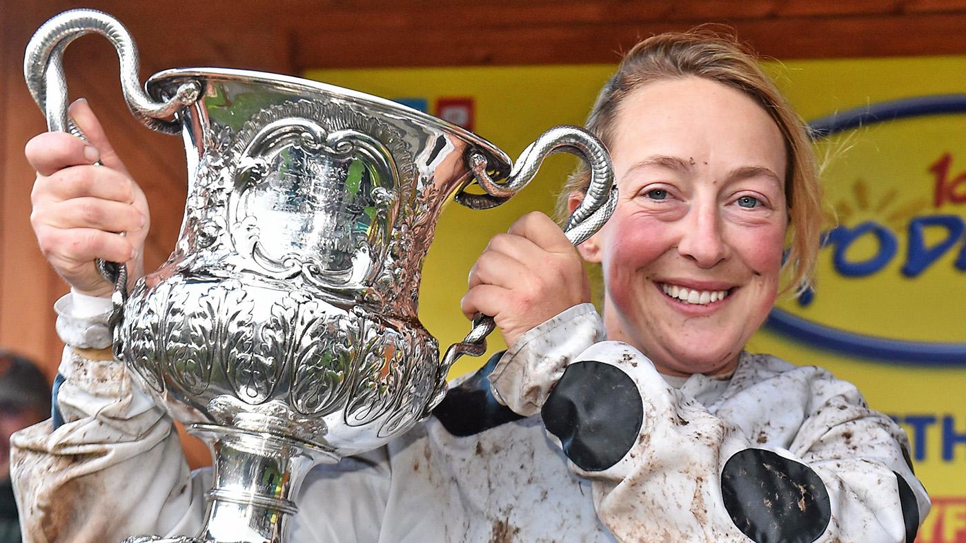 Racing world in shock following death of amateur jockey Lorna Brooke