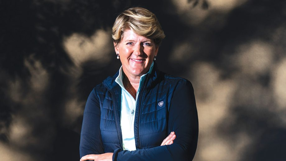 EDINBURGH, SCOTLAND - AUGUST 19: Broadcaster, journalist and author Clare Balding attends a photo call during Edinburgh International Book Festival 2019 on August 19, 2019 in Edinburgh, Scotland. (Photo by Simone Padovani/Awakening/Getty Images)