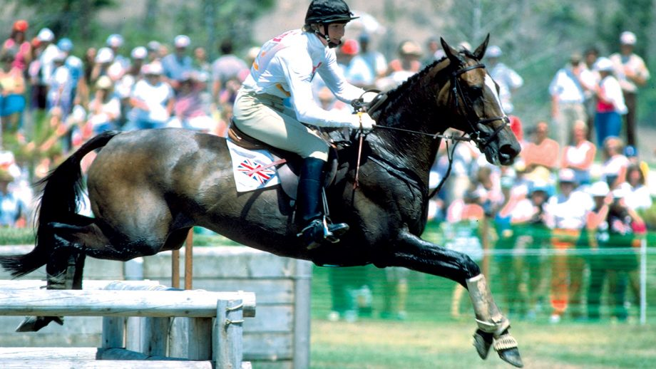 3 AUG 1984: LUCINDA GREEN OF GREAT BRITAIN ON REGAL REALM DURING THE TEAM JUMPING COMPETITION AT THE 1984 LOS ANGELES OLYMPICS. GREAT BRITAIN WON THE SILVER.
