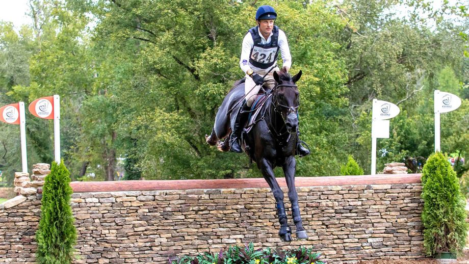 Tsetserleg event horse: Boyd Martin riding Tsetserleg