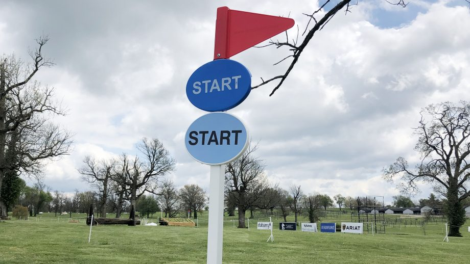 Kentucky Three-Day Event 2021 cross-country times