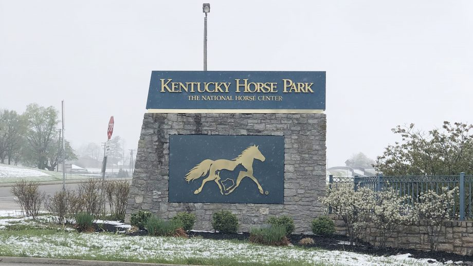 Kentucky Three-Day Event 2021 Sunday timetable