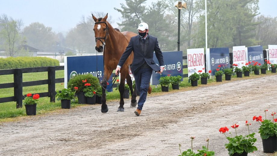Kentucky Three-Day Event 2021 final trot-up: Oliver Townend and Cooley Master Class