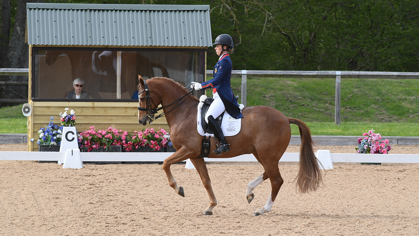 Charlotte Dujardin rides young star to win Wellington grand prix *H&H Plus*