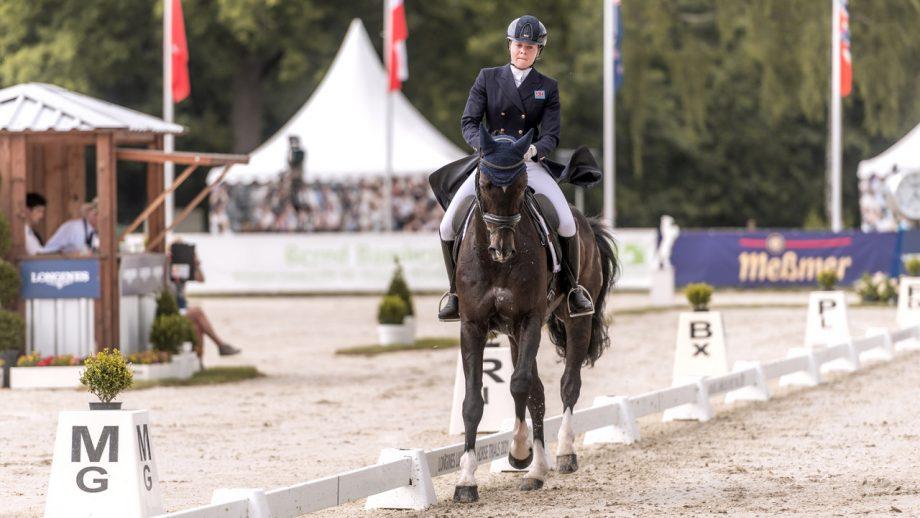 Luhmühlen Horse Trials dressage: Mollie Summerland and Chaly Van Ter Heiden