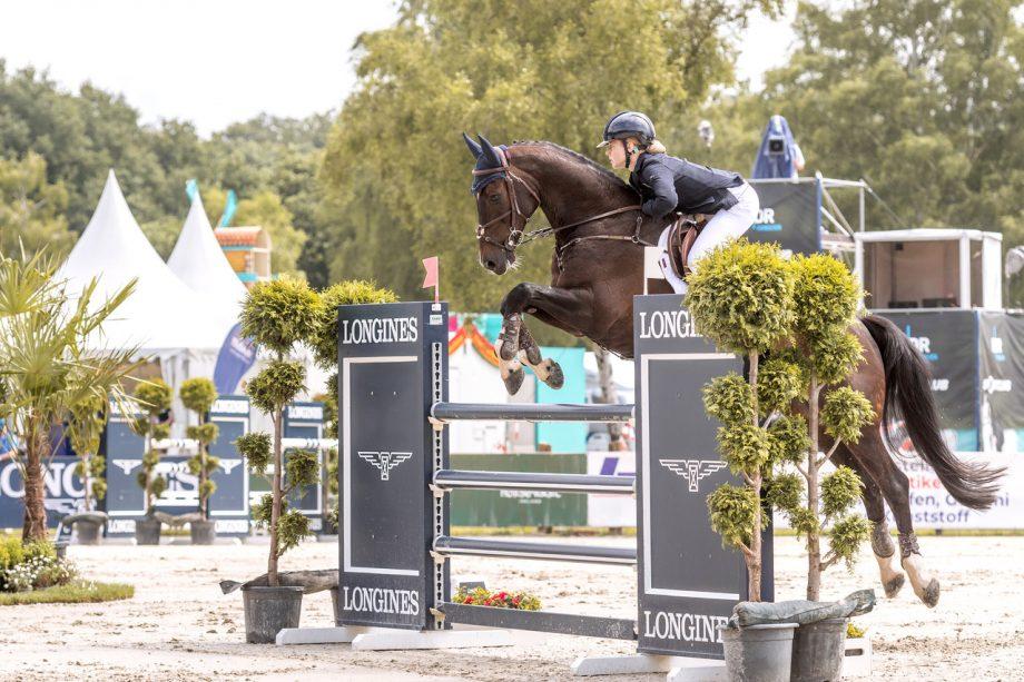 Luhmühlen Horse Trials results: Mollie Summerland wins on Charly Van Ter Heiden