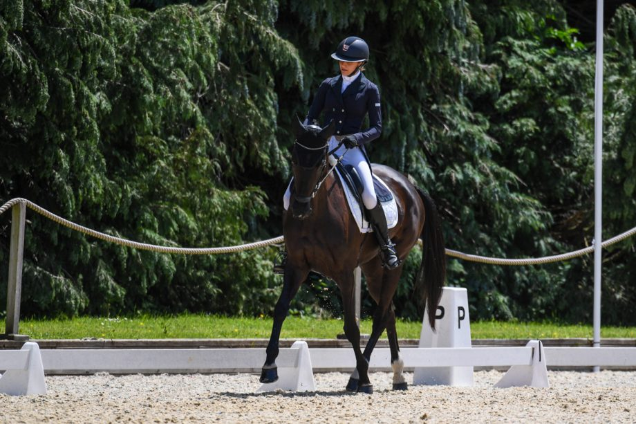 Barbara Sayous and Opposition Filmstar at Bicton 2021